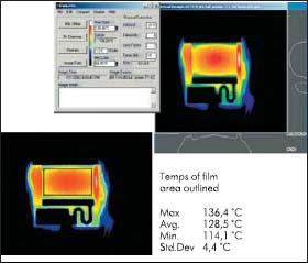 Результат термосканирования 60-ваттного терминатора