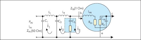 Применение конденсаторов в цепи согласования импеданса транзисторного усилителя