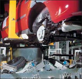 Применение датчиков W27 для обнаружения автомобильных шин