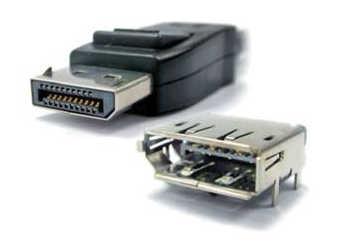 Рис. 3. Разъемы Molex DisplayPort
