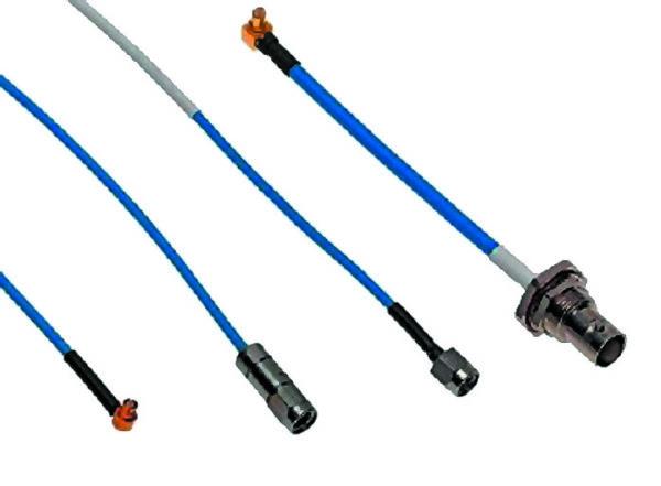 Гибкие кабельные сборки с использованием кабелей серии Temp-Flex типа Solid-Core Low-Loss и Air-Dielectric Ultra-Low-Loss