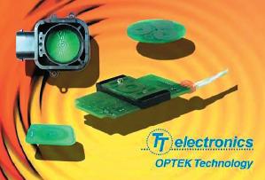 Рис. 98. Новые индуктивные датчики Optek Technologies на основе технологии Autopad