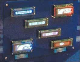 Индикаторные модули GU140X32F-7042 и GU140X16G-7042