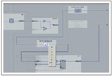 Буфер ввода/вывода проекта adc для System-Synchronus Input