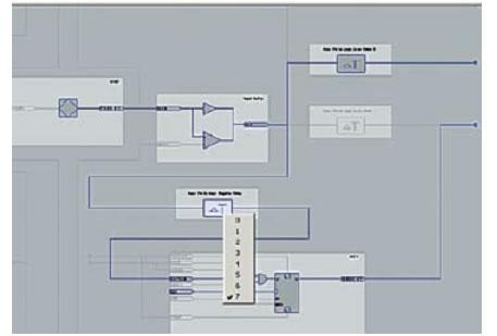 Буфер ввода/вывода проекта adc для Sourсe-Synchronous Input
