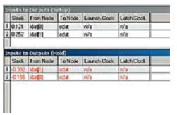 Отчет о временных нарушениях для проекта async_decoder в режиме 8_slow_1200mv_85c