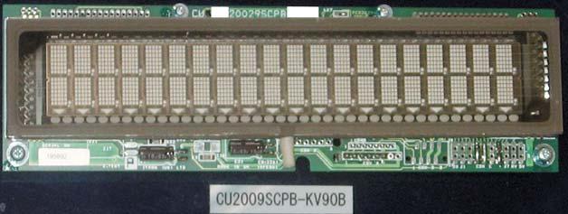 Рис. 2. Текстовый модуль CU20029SCPB-KV90B
