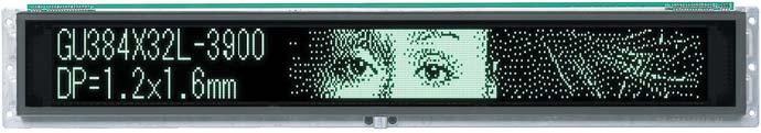 Рис. 6. Информационный графический модуль GU384X32L-3900