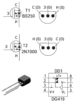 Рис. 2. Нетрадиционные преобразователи интерфейса RS-232