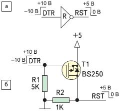 Рис. 5. Схемы формирования сигнала RST
