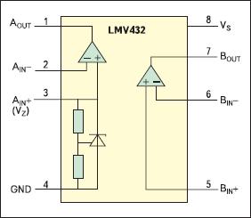 Структура микросхемы LM432