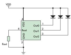Рис. 11. Типовая схема включения DD231