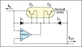 Схема токового инвертора