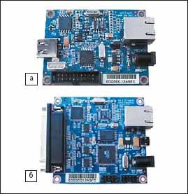 Демонстрационные платы: а) ASRB-USB; б) ASRB-Parallel
