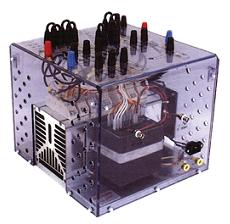 Демонстрационная сборка SEMITEACH с модулями SKКТ 57/12 и драйвером RT380T