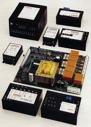 Рис. 8. Внешний вид модулей для управления тиристорными мостами серий RT, МР, APTT
