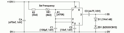 Рис. 3. Возможный вариант схемы внешней синхронизации для преобразователей серии NPH