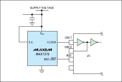 Типовая схема включения MAX7376
