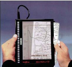 Планшет для целлулоидных авиационных карт
