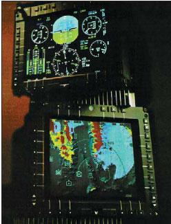 Дисплей рельефной карты боевых операций