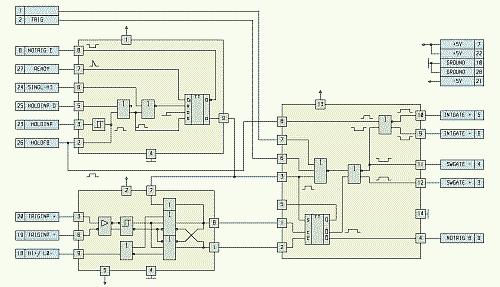 Рис. 7. Схема электрическая функциональная АФ011Б