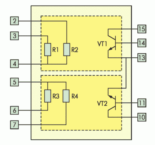 Рис. 8. Схема электрическая принципиальная РБ1С8ПН001