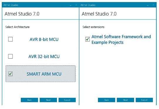 Особенности установки Atmel Studio IDE