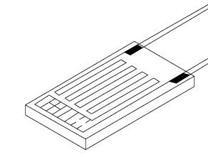 Пленочный термометр сопротивления