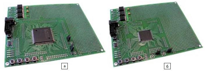 Общие виды отладочных комплектов FPGA