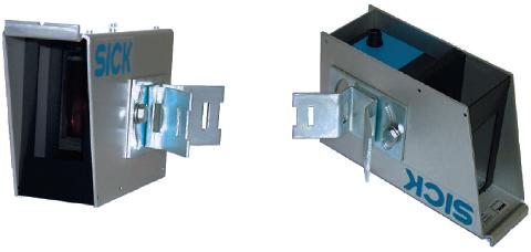 Рис. 7. Защитный кожух датчиков DT60/DL60/DS60