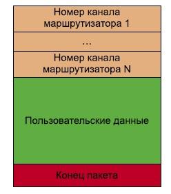 Структура пакета SpaceWire