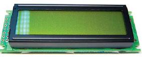 Знакосинтезирующий индикатор с драйвером на плате AC162A