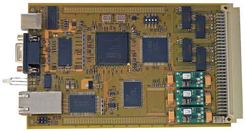 Рис. 9. Конструкция аппаратной платформы DS-E-4000