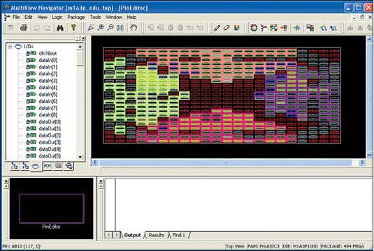 Рис. 4. Pin Editor