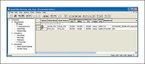 Рис. 9. Constraints Editor
