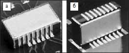 Способ монтажа модели 3255: а) горизонтальный; б) вертикальный