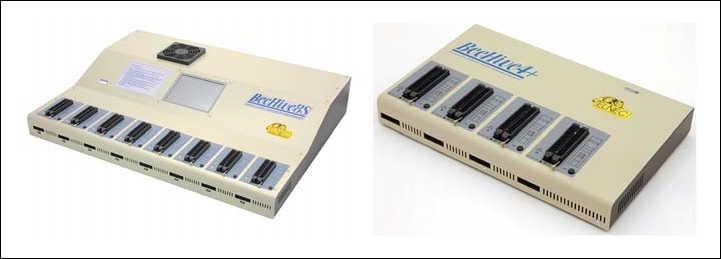 Рис. 1. Программаторы BeeHive8S и BeeHive4+