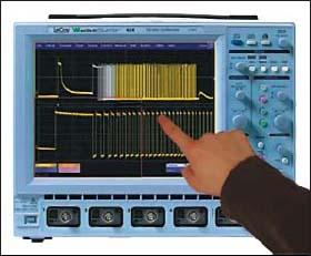 Осциллограф с сенсорным экраном (фирма LeCroy)
