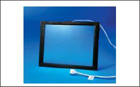 Сенсорный экран с контроллером и соединительным кабелем