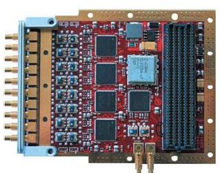 Конструктивное исполнение модуля аналого-цифрового преобразования сигналов FMC108