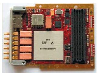Конструктивное исполнение модуля аналого-цифрового преобразования сигналов FMC126