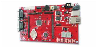 Оценочная плата для микроконтроллера STR912
