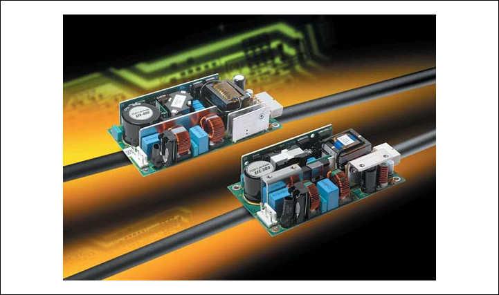 Рис. 3. Источники питания AC/DC серии EFE с цифровым управлением преобразованием напряжения