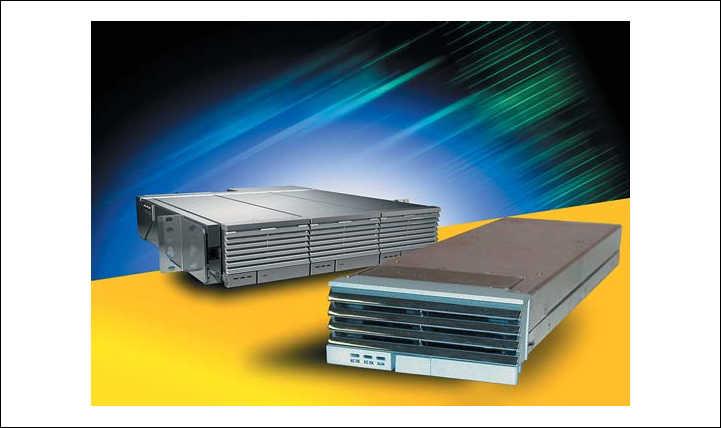 Рис. 7. Модули электропитания серий TX -  основа для создания источников питания большой мощности для распределенных систем электропитания