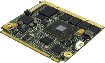 Модуль SECO Qseven с процессором NVIDIA Tegra2 на ядре Cortex-A9