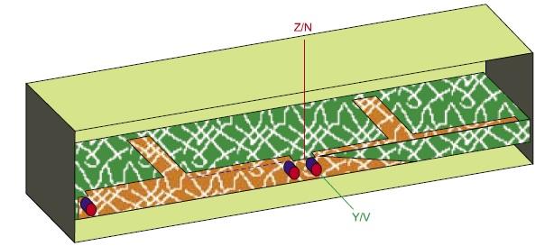 Модель транзисторного СВЧ-усилителя в корпусе