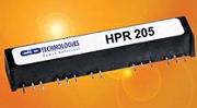 Рис. 3. Преобразователи серии HPR2XX с четырьмя изолированными выходами (3 Вт)