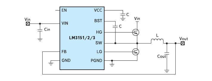 Рис. 1. Схема контроллера LM315x