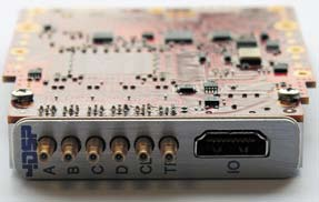 Внешний вид модуля аналого-цифрового преобразования сигналов FMC122
