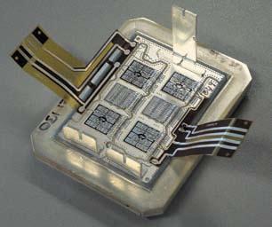 «Референтный» модуль со сварными алюминиевыми проводниками
